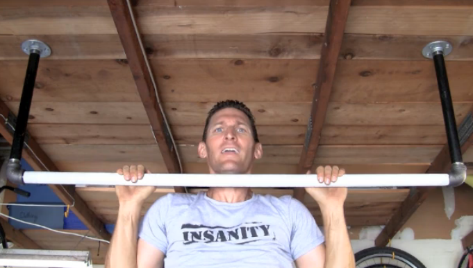 How To Make A Homemade Pull Up Bar Fit Marriage